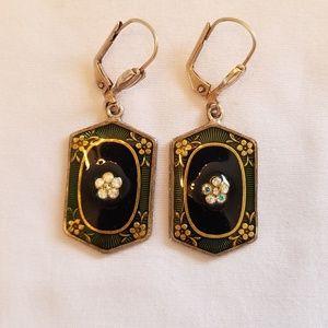 Vintage Costume Fashion Jewelry Earrings